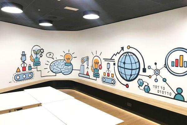 mural-en-oficinas
